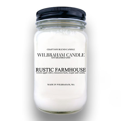 Jar Candle - Rustic Farmhouse