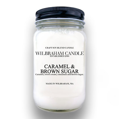 Jar Candle - Caramel & Brown Sugar