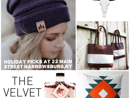 A Selection of Hats, Bath Salts & Home Decor at The Velvet Maple