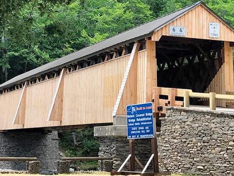 The Beaverkill Covered Bridge