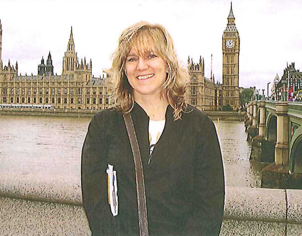 Christine Steele in London
