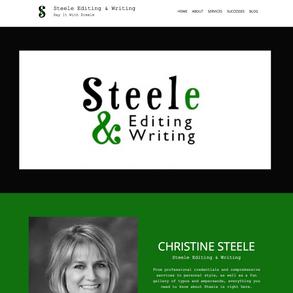 Steele Editing & Writing is LIVE!