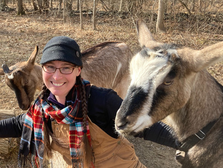 A 24/7 Goat Farmer with a Full-Time Scientist Job