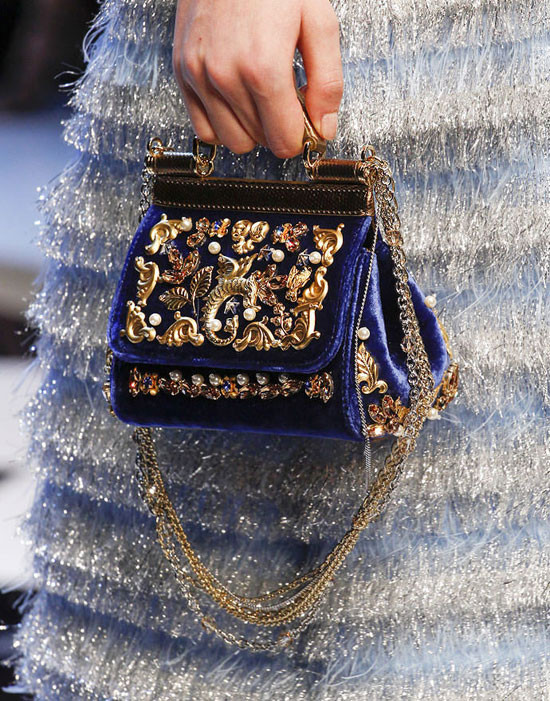 An evening out begs the right evening bag