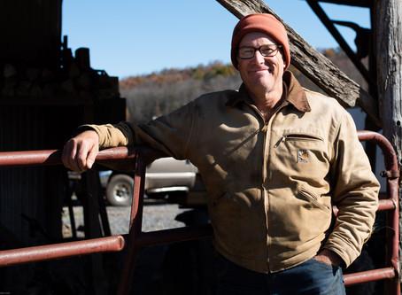 Sustainable Food Pioneer, Joel Salatin, Dishes on Food Security