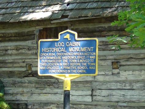 Log Cabin Historical Monument