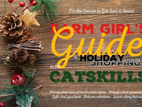 Farm Girl's Guide to Holiday Shopping in the Catskills