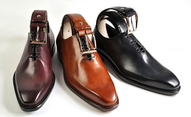 Match your shoes and belts... or get close
