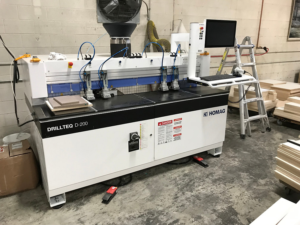 homag drill and dowel inserting machines