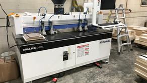 HOMAG DRILLTEQ D-200 ABD Drilling & Dowel Inserting Machine - Salt Lake