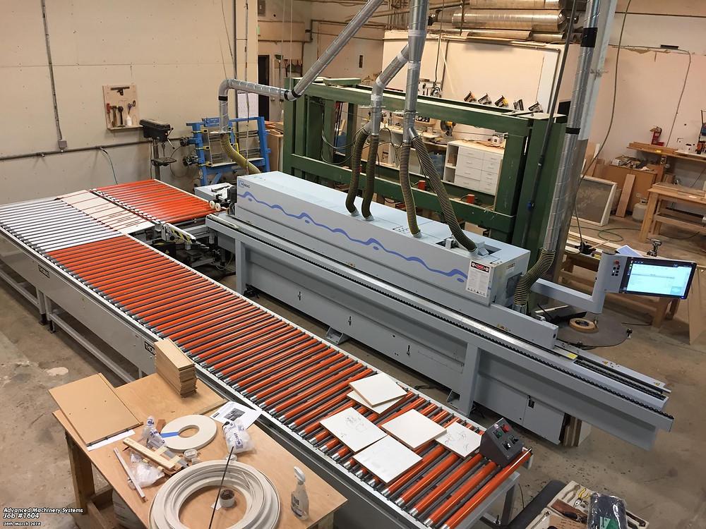 Homag Edge Banding Machine & Return Conveyor