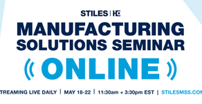 Upcoming Mfg Solutions Seminar