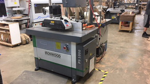 Ironwood PS-1000 Programmable 10HP Shaper w/ Co-Matic Power Feeder - St. George