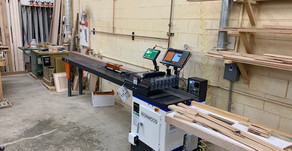 "TigerStop with TigerTouch on Ironwood 18"" Upcut Saw - Rexburg"