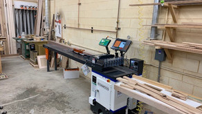 """TigerStop with TigerTouch on Ironwood 18"""" Upcut Saw - Rexburg"""