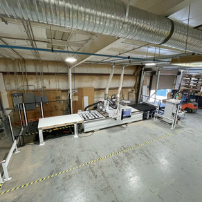 HOMAG Centateq N-300 Feed-Through CNC Machining Center - Salt Lake