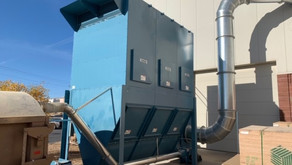 Belfab 60HP Dust Collector with RSC 26 Blower - St. George