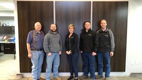 AMS Service Team Reaches Milestone