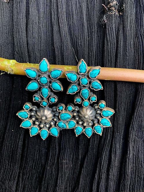 Big Turquoise studs