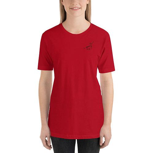 Tai Chi Figure Short-Sleeve Unisex T-Shirt
