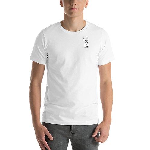 Pa Kua Figure Sm Logo Short-Sleeve Unisex T-Shirt
