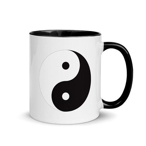 Yin Yang Mug with Color Inside