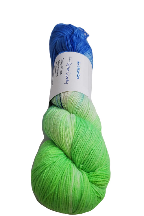 Green Candy - Simple Sock