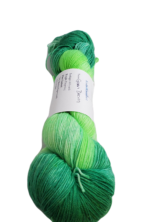 Green Dream - Simple Sock