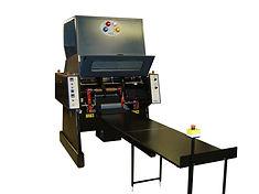 PVC and PE Stretchfilm perforating rewinder