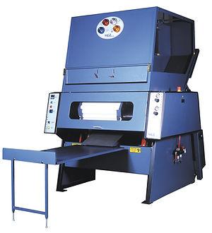 Strechwrap prestretch PVC automatic rewinder rewinding machine