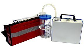 Portable Medical Suction Unit with battery