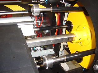 Turret Rewind system for PVC Film rewinding