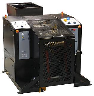 Converting rewinder for film PE PVC