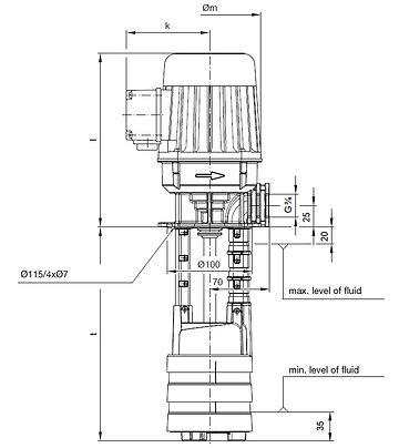 Circulation and cooling pumps
