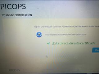 somos empresa picops certificada