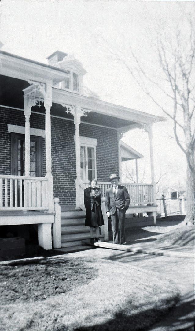 Photo d'archive de la bâtisse début 20e siècle