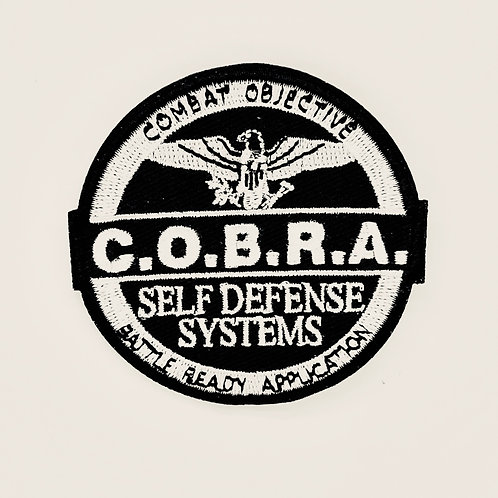 C.O.B.R.A. Self Defense Systems Patch
