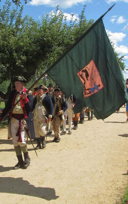 Marching out at Sturbridge