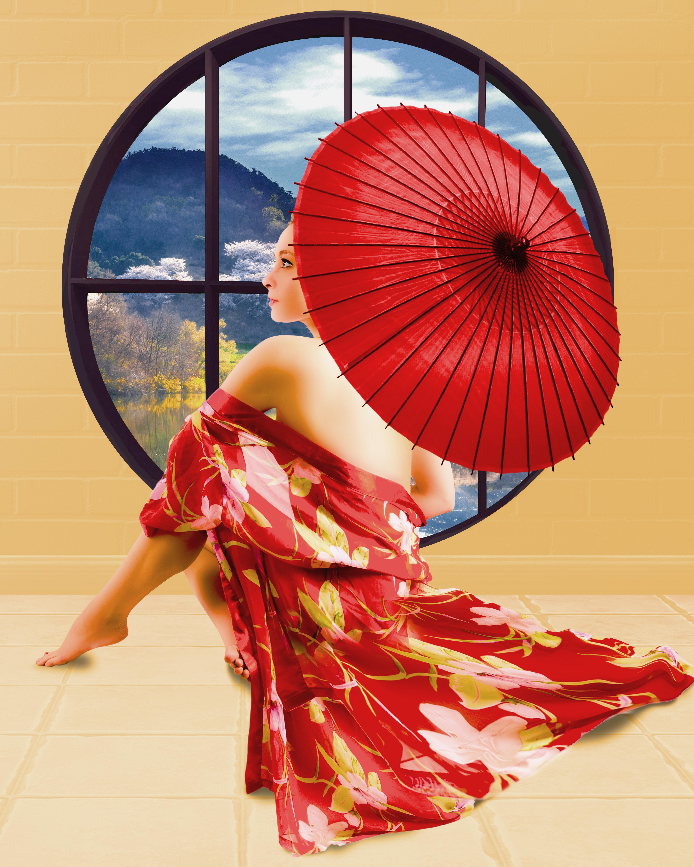 Geisha Umbrella_2768-1