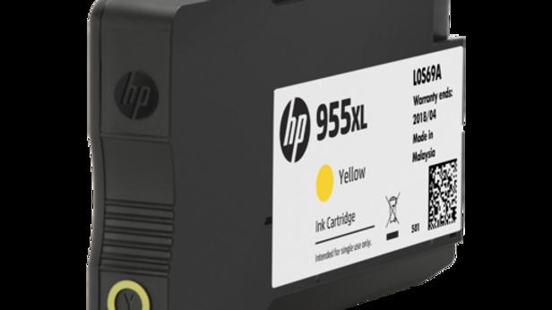 HP 955XL High Yield Yellow Original Ink Cartridge (L0S69AA)