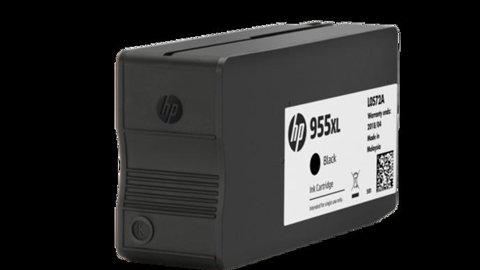 HP 955XL High Yield Black Original Ink Cartridge (L0S72AA)