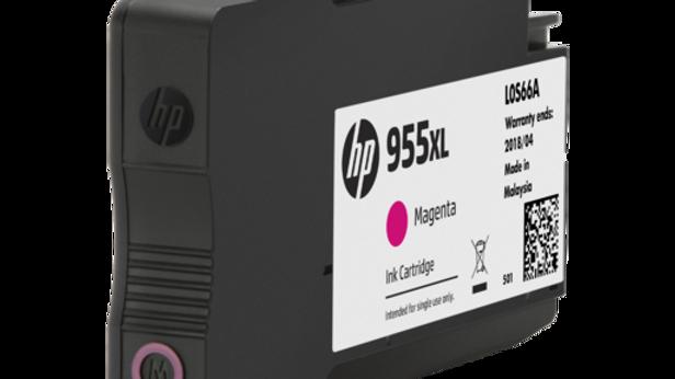 HP 955XL High Yield Magenta Original Ink Cartridge (L0S66AA)