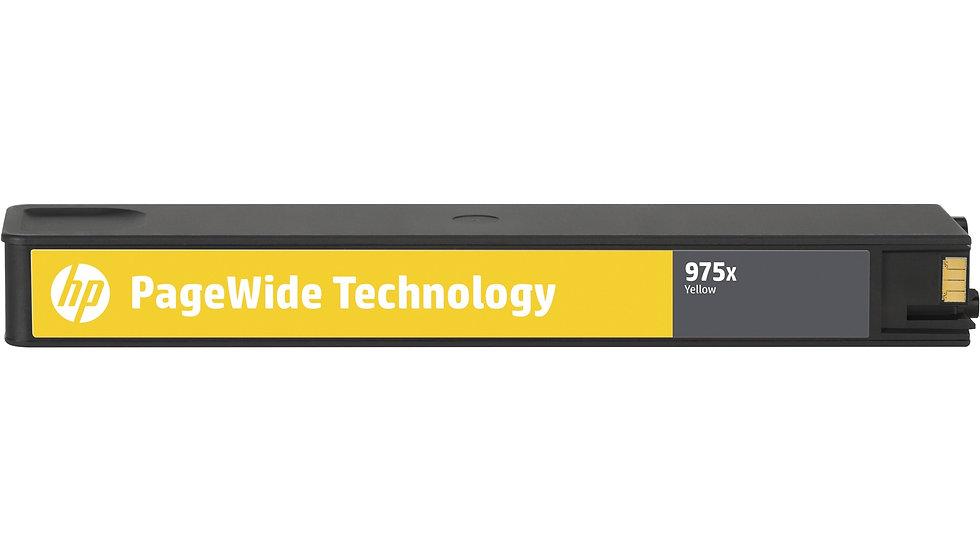 HP 975X High Yield Yellow Original PageWide Cartridge (L0S06AA)