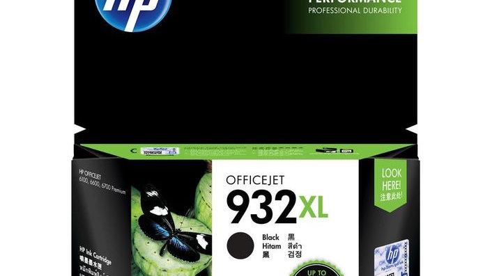 HP 932XL High Yield Black Original Ink Cartridge (CN053AA)