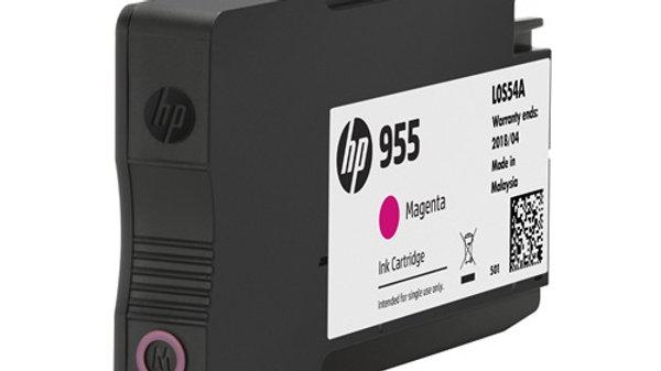 HP 955 Magenta Original Ink Cartridge (L0S54AA)