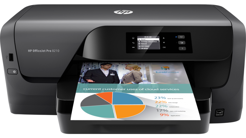 HP OfficeJet Pro 8210 Printer (D9L63A)