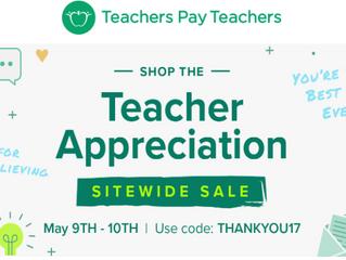 Teacher Appreciation Sale!!!