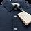 Thumbnail: FILIPPO DE LAURENTIIS CR14T Polo Donker Blauw