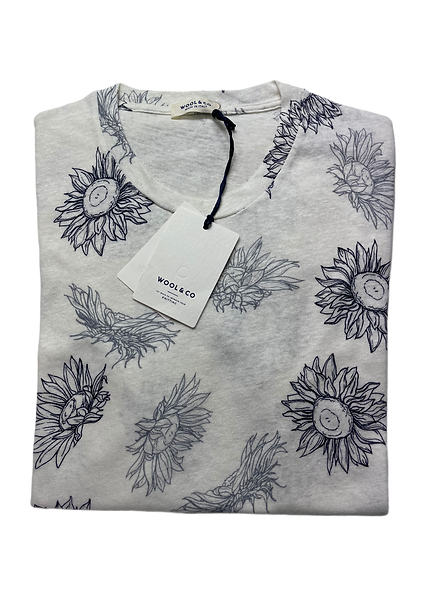 Wool & Co 6190 Flower Shirt