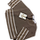 Thumbnail: Wool & Co 6035/S Gestreepte Trui Korte Mouw Bruin